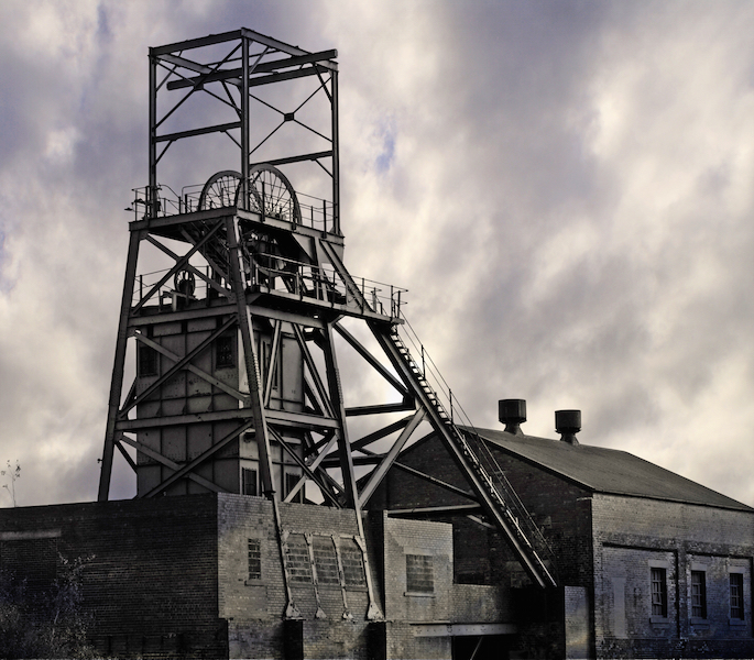 Coal mine, South Yorkshire