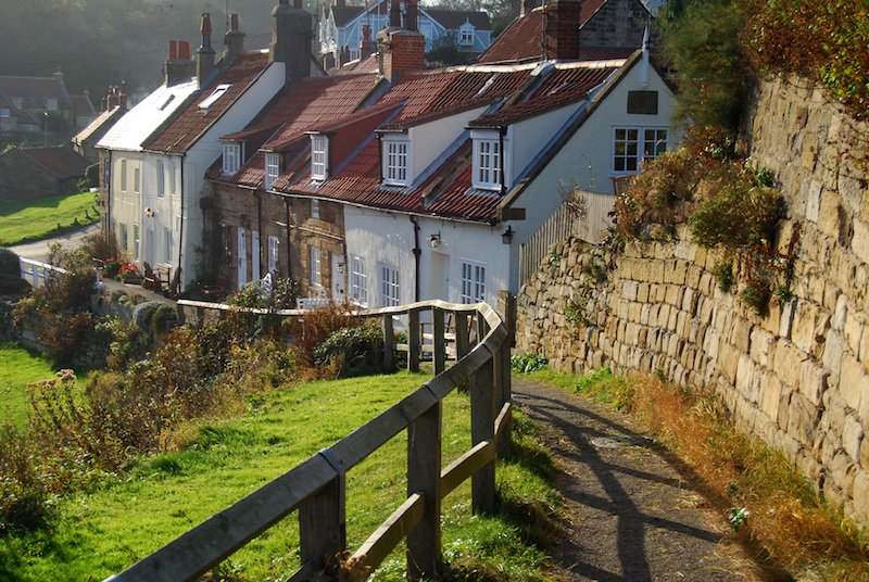 Cottages Sandsend North Yorkshire