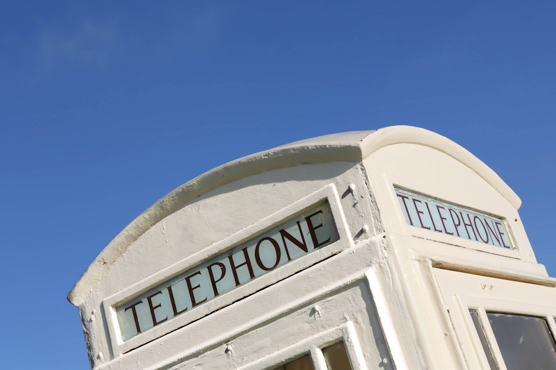 Hull White telephone box