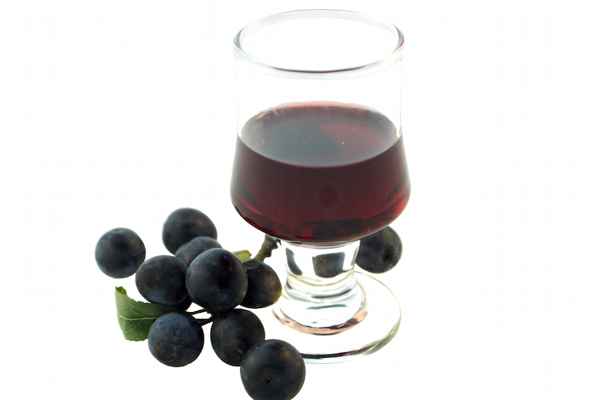 Sloe Gin - made in Yorkshire