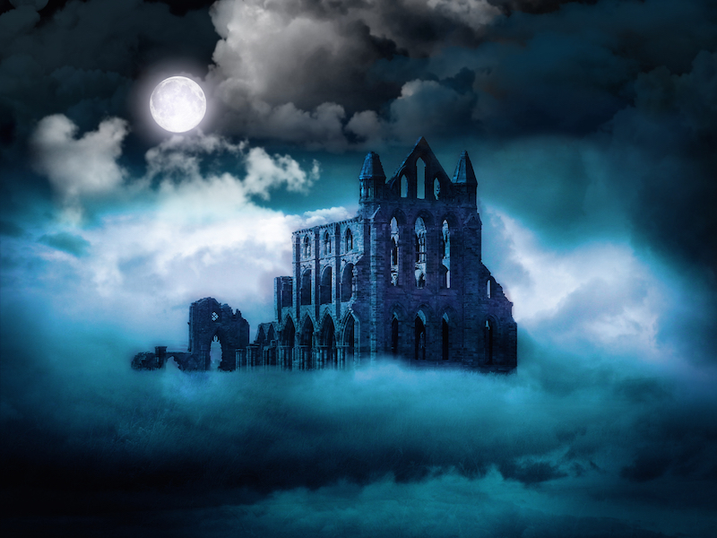Count Dracula - Whitby Abbey