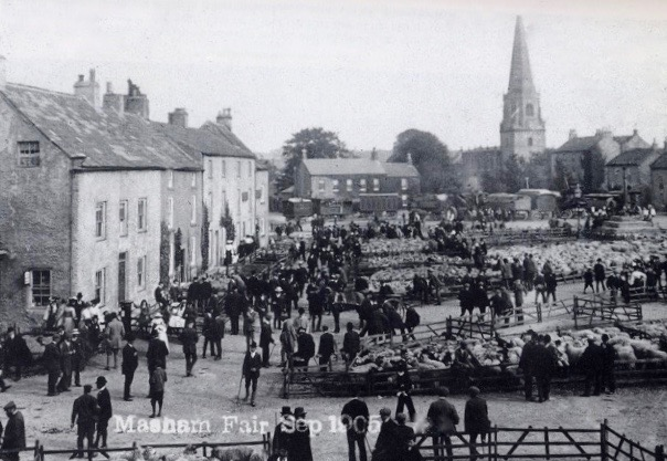Masham Sheep Fair 1905