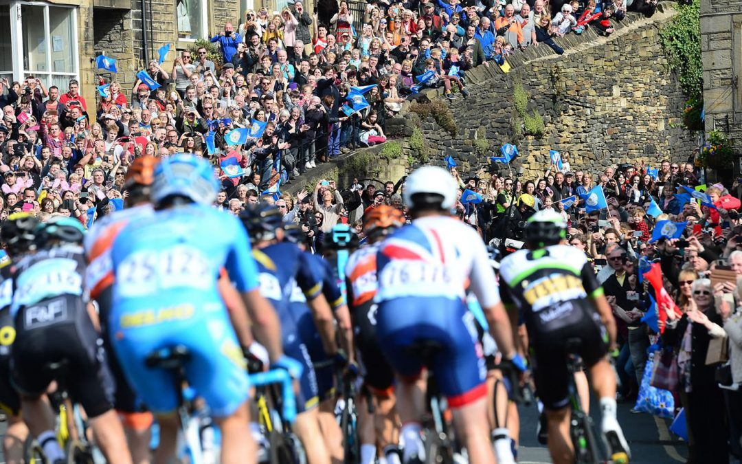 Tour de Yorkshire in Bedale