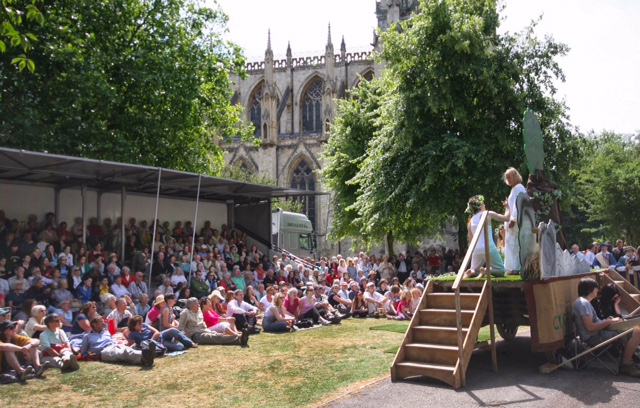The Mystery Plays return to York