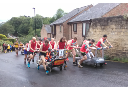The Great Knaresborough Bed Race